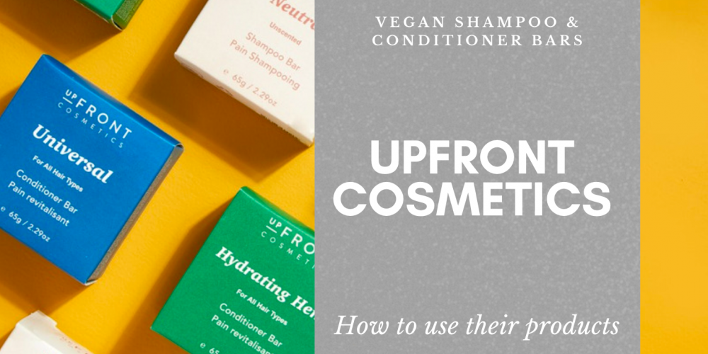 upfront cosmetic how to use their products